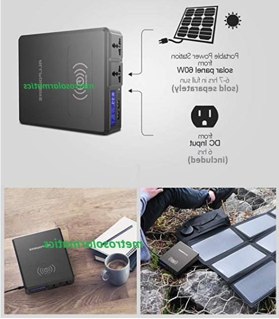 Allpowers Bank 110VAC DC 154W Q Charger Solar Ready-6 ports