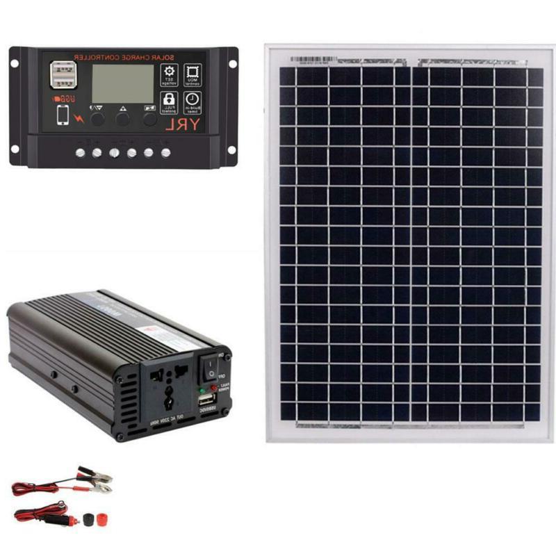 Kit Home Battery Solar Power System