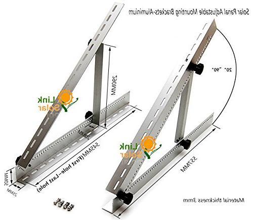 Adjustable Mounting Brackets Legs, Boat, RV, Off