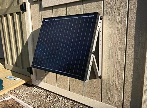 Adjustable Panel Mounting Brackets Legs, RV, Roof Off Grid