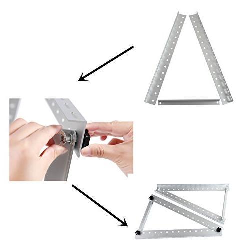 Adjustable Mount Mounting Brackets Folding Tilt Legs, Boat, Off