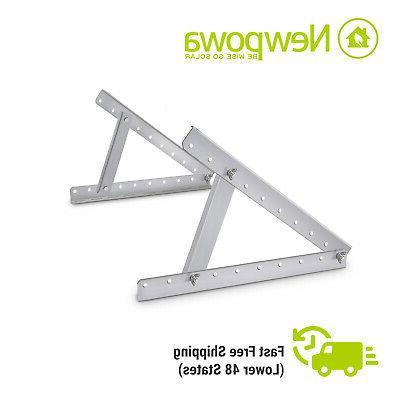 adjustable solar panel mounting bracket rv boat