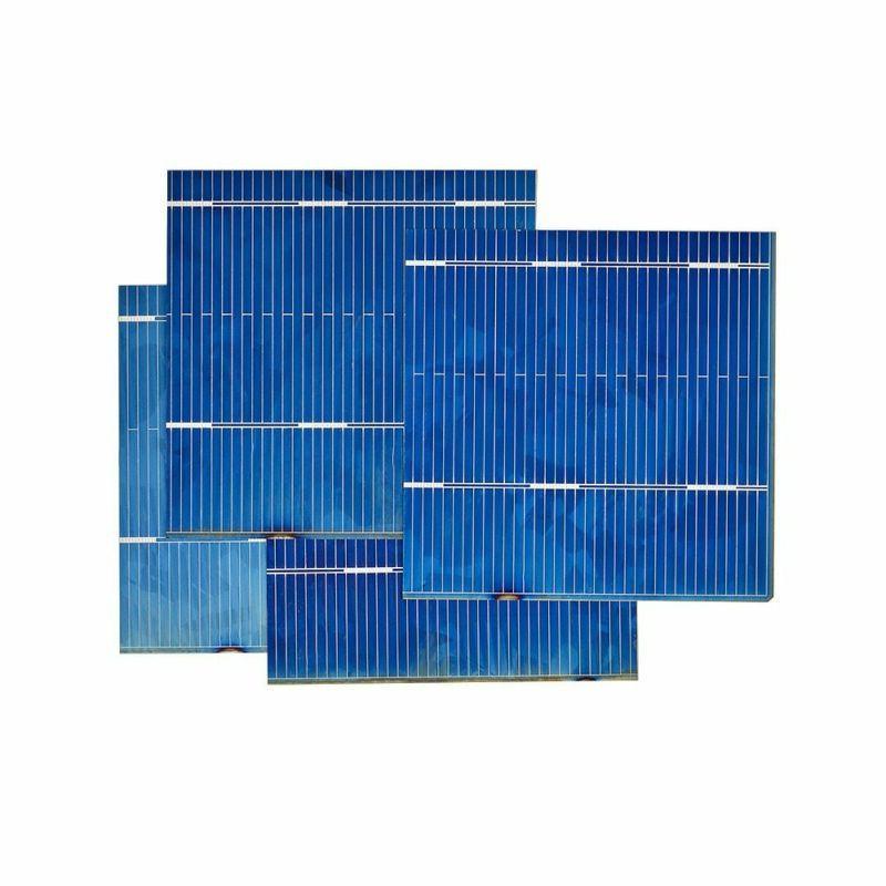 AIYIMA Solar Solars Cell 52x52MM 0.5V 0.46W Crystal Solar Mod