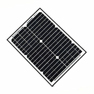 ALEKO 12-Volt 20 Watt Solar Panel