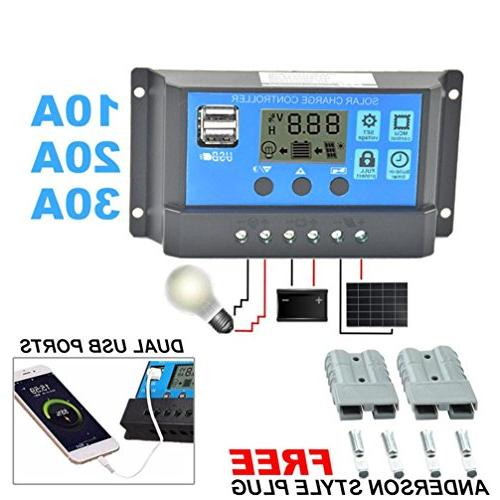 auto solar panel battery charge
