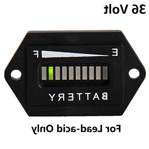 battery indicator meter gauge hex