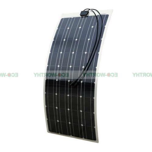 100W Mono Solar 15A for Car
