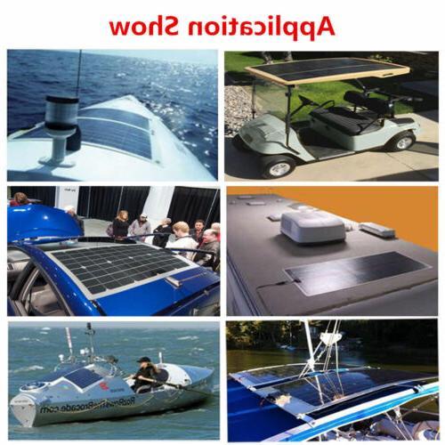 100W 12V Bendable Flexible Mono Solar 15A Controller for Car