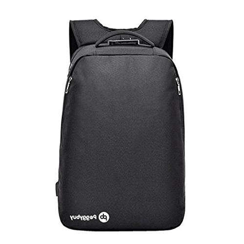 business canvas usb charge backpack