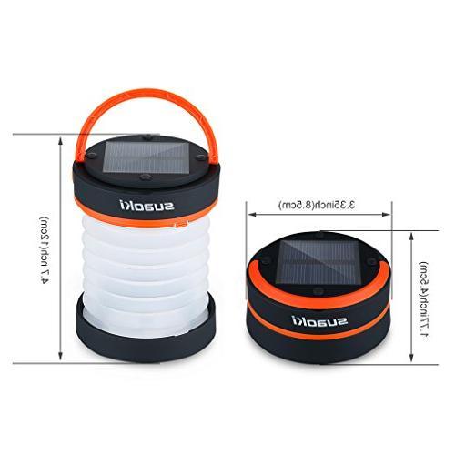 SUAOKI Led Lights Battery Flashlight for Tent
