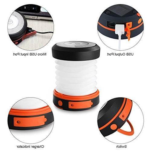 SUAOKI Led Lantern Lights Collapsible Flashlight for Tent Garden