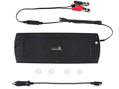 Sunway Charger Charger Maintainer Solar Panel Power Portable For Boat Marine ATVs Snowmobile