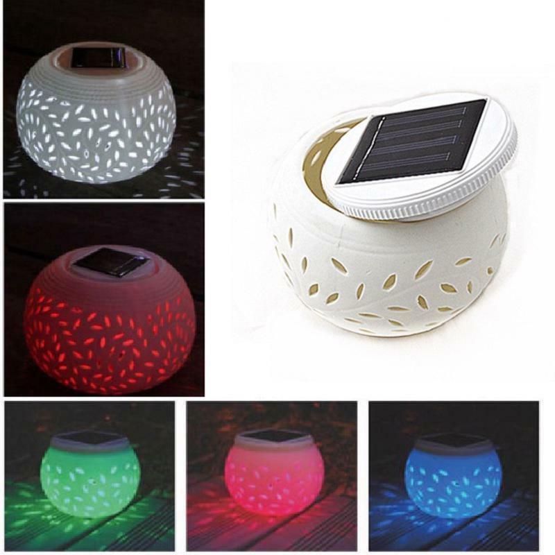 Ceramic Lawn Lights Solar