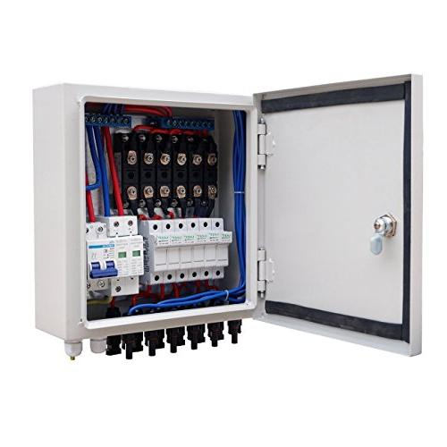 ECO LLC 900W Complete Off System Kit 150W 1500W Inverter AC and 6 Combiner Box and 60A Charge Controller