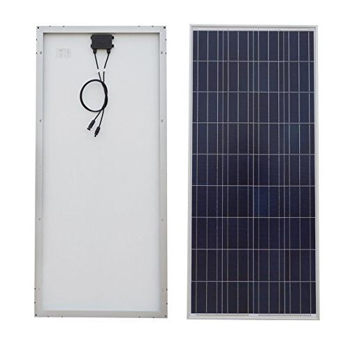 ECO LLC Complete 150W Solar Panel and and 6 Box and 60A Solar Charge