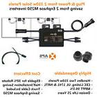 COMPLETE KIT 1 APS YC500A Solar Microinverters for 2 Panels