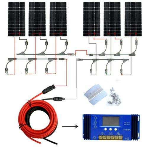 ECO Solar Panel 600W 100W Panel Home Power