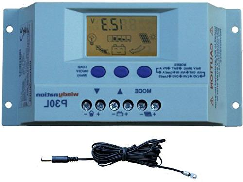 WindyNation Watt Solar Panel 1500 Watt VertaMax Power Inverter 12