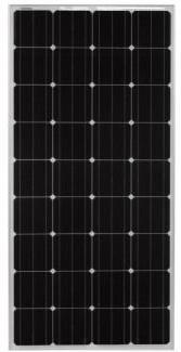 Go Power! CTI-160 160-Watt 12-Volt Solar Panel for RV, Marin