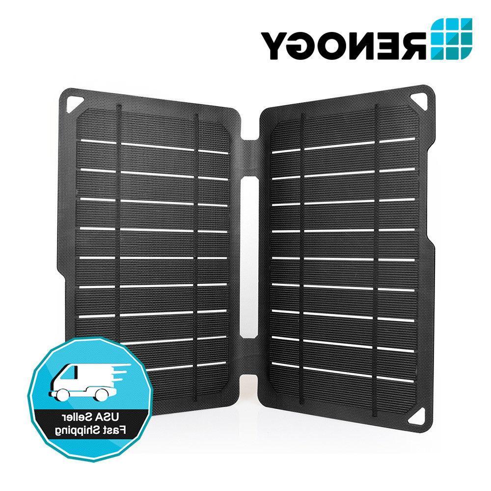 Renogy E.FLEX 10 Watt Mono Solar Panel Portable 10W 5V USB B