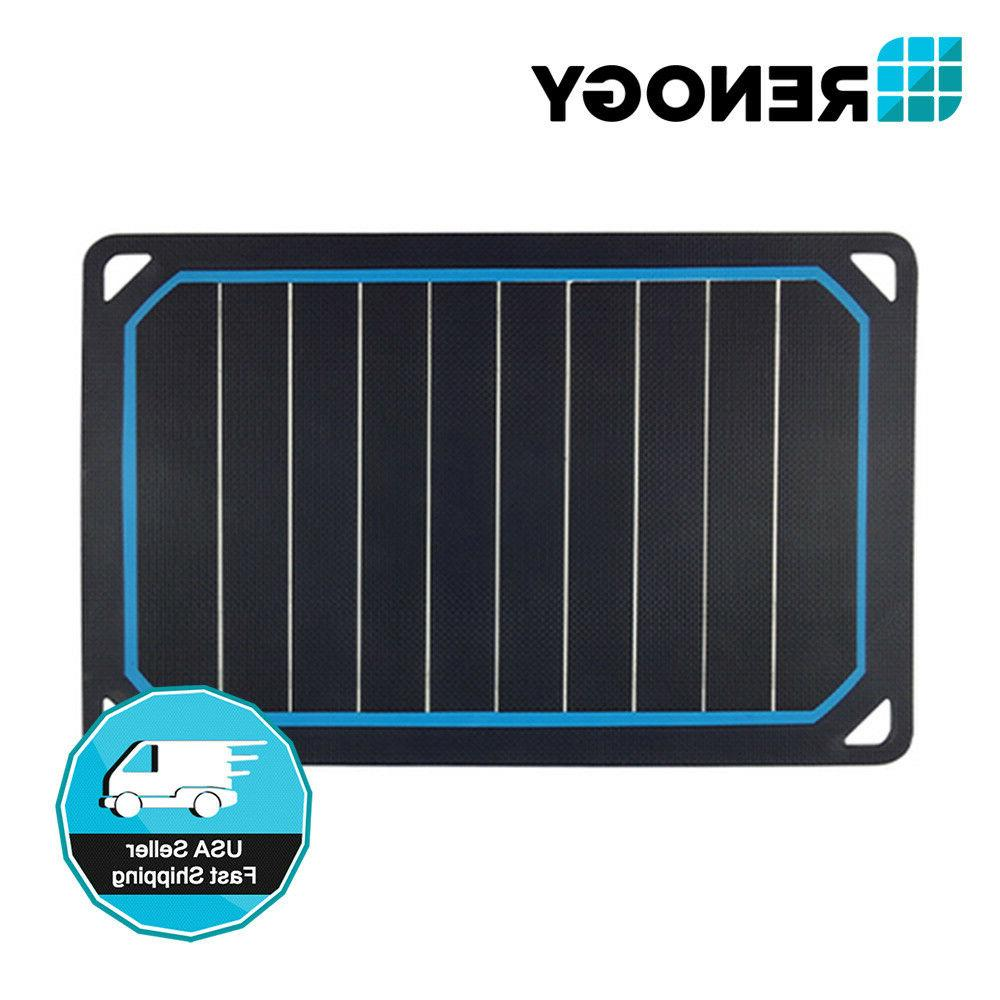 Renogy E.FLEX5 Plus 5W 5 Watt Portable Solar Panel with USB