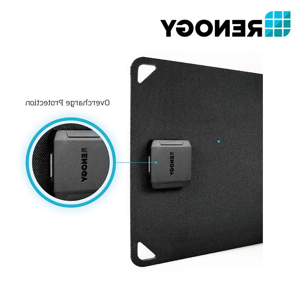 Renogy 5 Mono Solar 5W 5V Portable USB Charger Outdoor