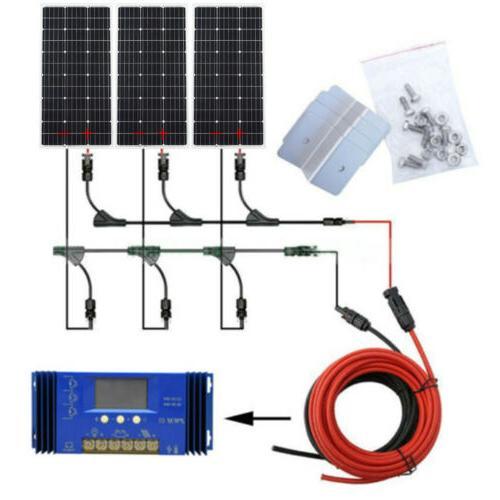 400W Watt Off Grid Solar Panel 1KW Pure Kit