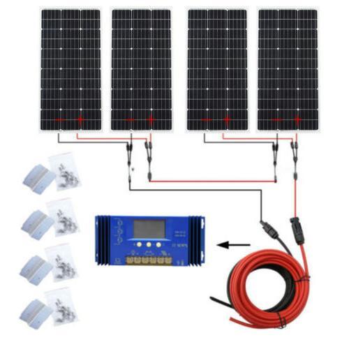 Off Grid 100W Solar Pure