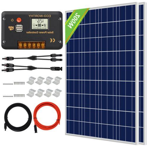 200W Watt Solar for Controller