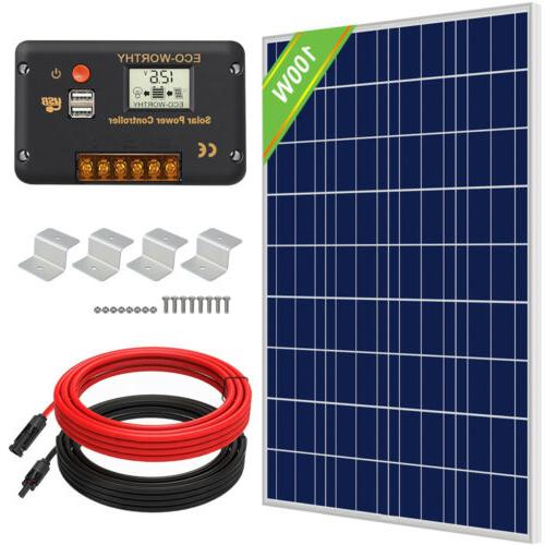 200W 400W Watt for Charge & Controller Home RV