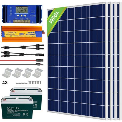 ECO Watt 24V Kit Battery For RV Boat Home