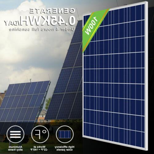 ECO Watt 24V Solar RV Home