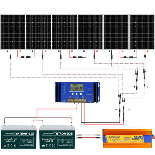 eco 800w 600w 400w watt 24v solar