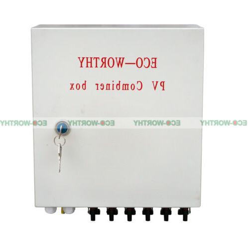 ECO Safe Solar Combiner Box Lighting Panel