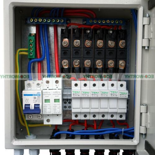 6 60A Combiner Box Circuit Breaker