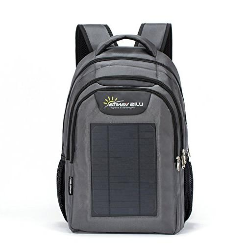 eco solar charger backpack bag