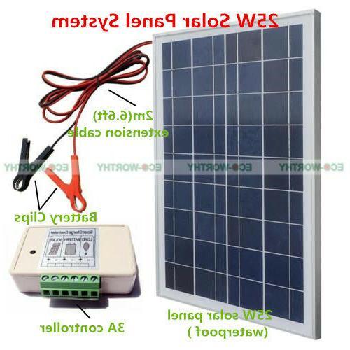 ECO Solar 5W 10W 100W 160W Poly Solar Battery Power