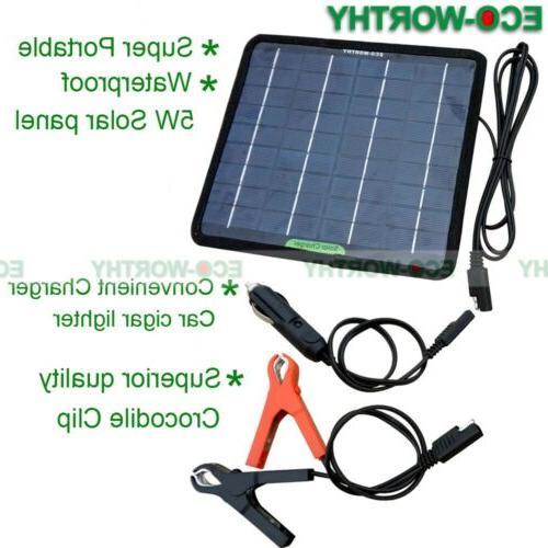 ECO Solar Panel Poly Battery