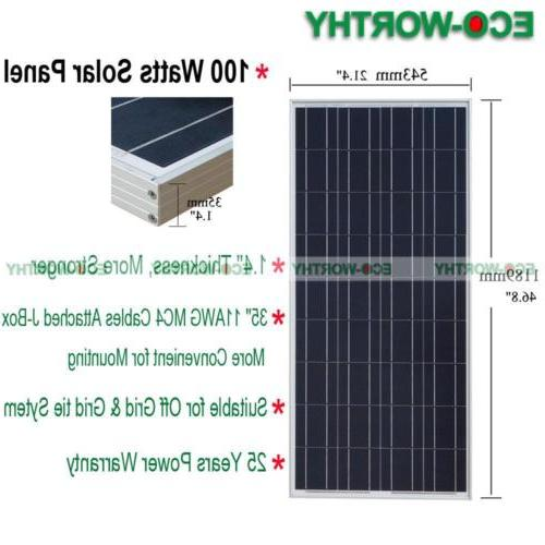 ECO 10W Poly For Battery Power