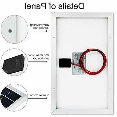 10 Watt 12 Pv Solar Panel
