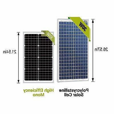 NewPowa High watt 12V Solar Panel Mono Module