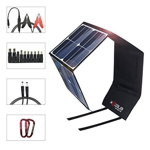 efficiency folding solar panel charger