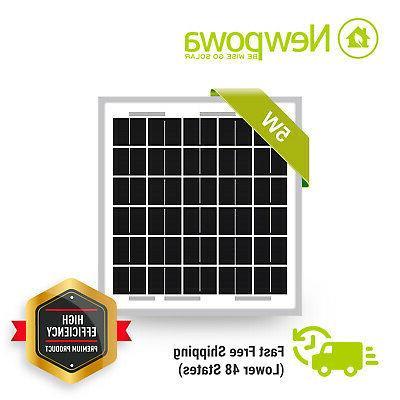 efficiency poly solar panel module