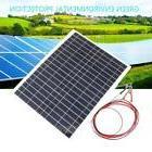 Elfeland 12V 30W Semi Pop Solar Panel Battery Charger + Cabl