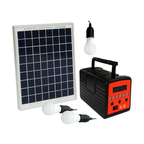 Solar Generator Lighting System with Solar Lamps