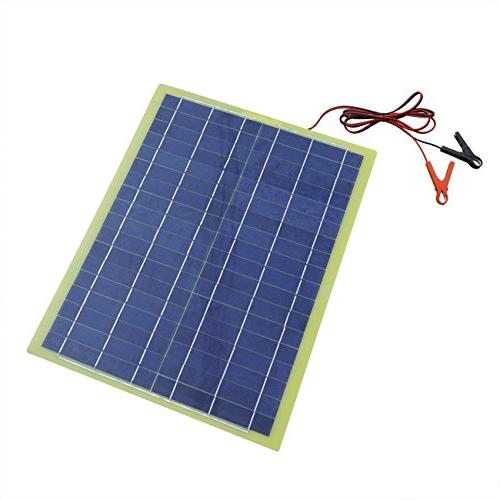 ECO-WORTHY Solar Panel with Cable for 12V Camping Charger