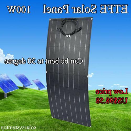 flexible solar panel 100w etfe moncrystalline solar