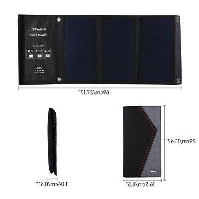 FOLDABLE 5V SOLAR POWER BANK FOR