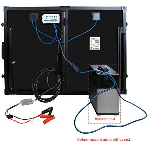 Solar Kit, Battery Suitcase with