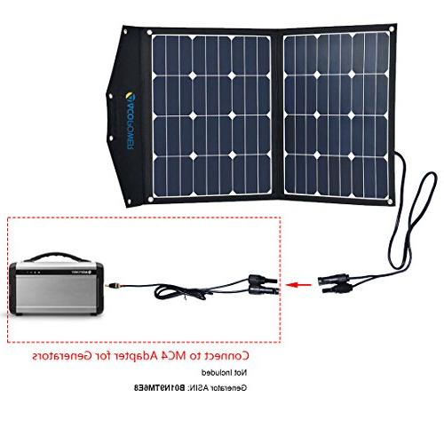ACOPOWER Foldable Solar Panel Portable 5A Charge Boats, 5V as Phone Charger